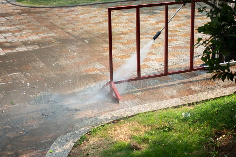 outdoor cleaning service abu dhabi